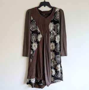 Boho Brown Dress